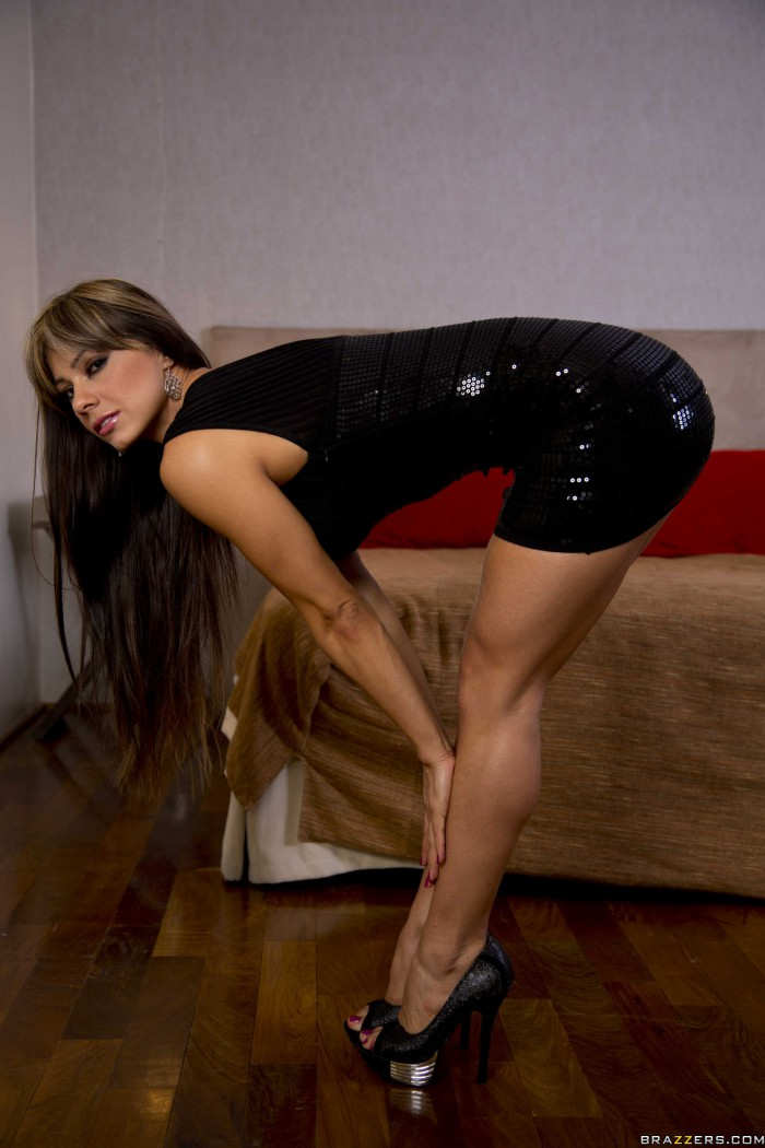 Esperanza Gomez Bent Over